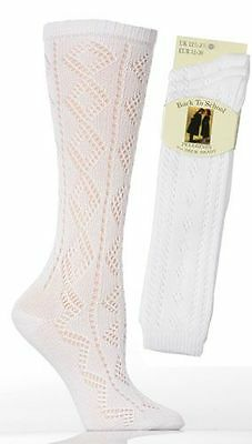 3 Girls Pelerine Cotton Rich Knee High School Socks / All Sizes
