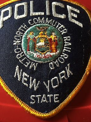 New York State Railroad Police patch