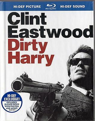 Dirty Harry (Blu-ray Disc, 2008) Clint Eastwood  w/ 36 page book  BRAND NEW