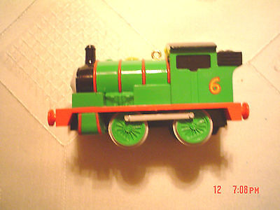 "Hallmark Ornament 1996 ""PERCY THE SMALL ENGINE"" No.6 Thomas Tank Train NIB"
