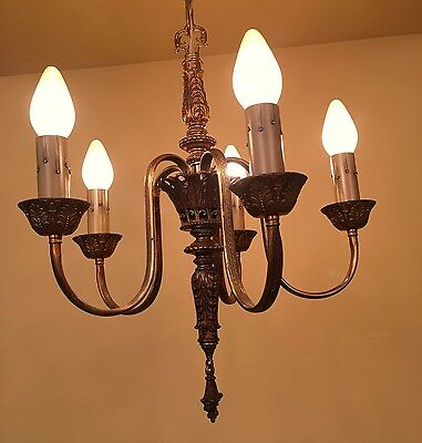 Vintage Lighting gorgeous 1920s chandelier