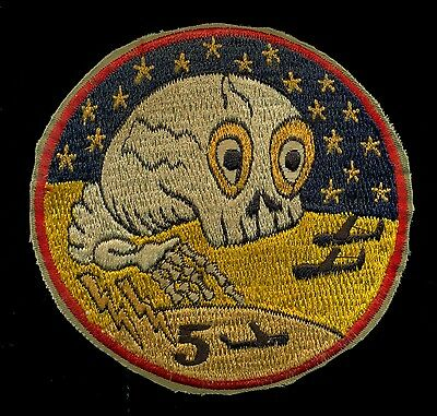USAF 5th Bombardment Group B-52 Patch A-6