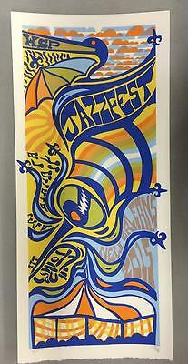 Widespread Panic New Orleans 2015 Jazz Fest Tripp Concert Poster
