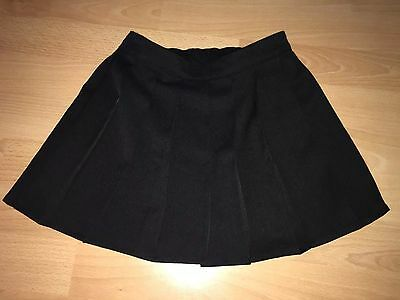 Girls Black Pleated School Skirt - Age 4-5 Years - Brand New With Tags - H&m