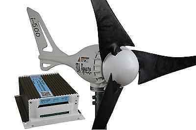 12V HYBRID KIT Offer ISTA-BREEZE®  i-500 Small WIND GENERATOR +Charge Controller
