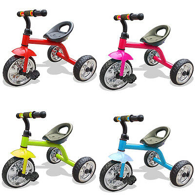 NEW Kids 3 Wheeler Smart Design Kids Children Trike Tricycle Pedal Ride-On Bike