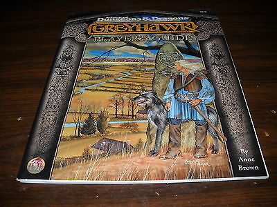 TSR AD&D: Greyhawk: Player's Guide