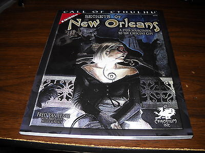 Chaosium: Call of Cthulhu: Secrets of New Orleans
