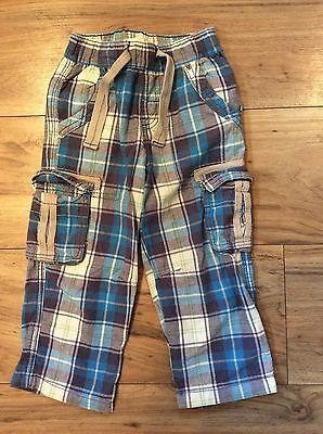 Next Check Trousers Age 2-3 Similar To Mini Boden