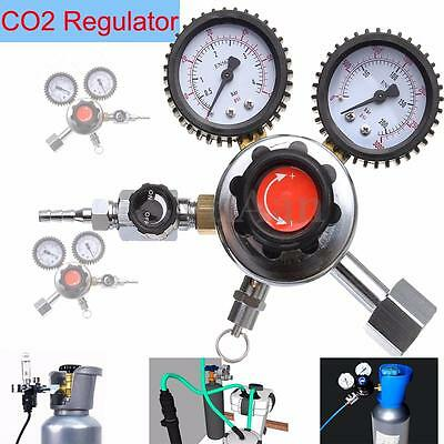Dual CO2 Regulator Carbon Dioxide Beer Brew Homebrew Soda Draft Professional