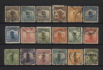 China Collection 18 Junk Values (Inc Ovprts) Used