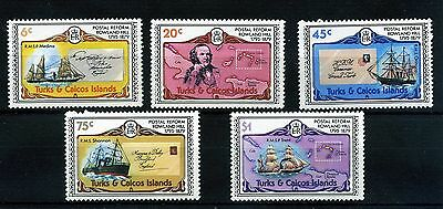 Turks And Caicos Islands.5 -- 1979 Unmounted Mint Stamps On Stockcard