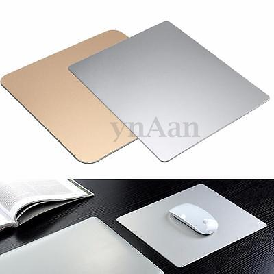 "7.5"" / 10""Aluminum alloy Pad Mousepad Gaming Mat Mouse For Apple Macbook Dell"