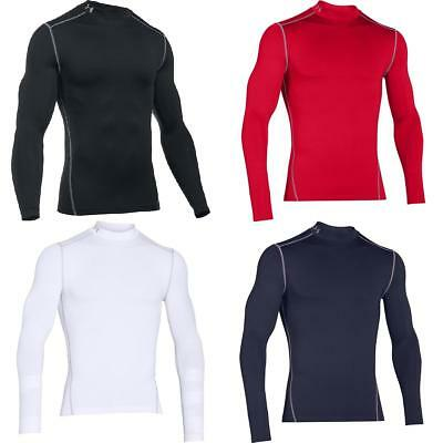 Under Armour Men's ColdGear Armour Compression Mock Base Layer