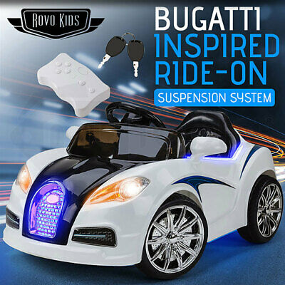 NEW Kids Ride-On Electric Car Bugatti Style -Battery Children Sports Toy Remote