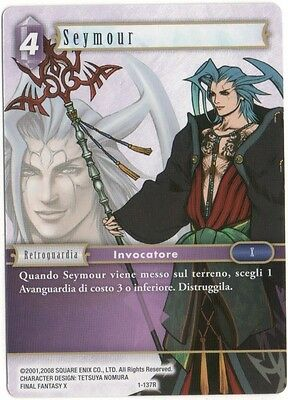 Final Fantasy TCG Seymour Opus 1 1-137R Italiano