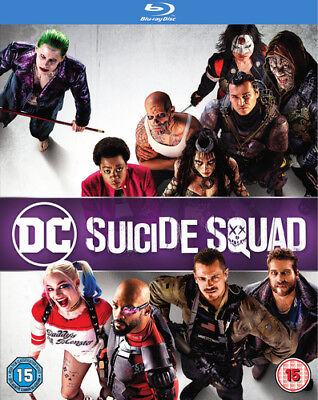 Suicide Squad Blu-Ray (2016) Will Smith, Ayer (DIR) cert 15 2 discs ***NEW***