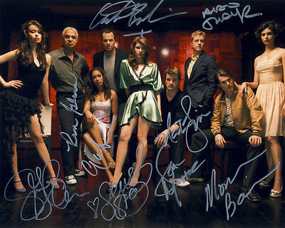 """** SERENITY / FIREFLY ** """"CAST"""" Autographed Glossy 8x10 RP"""