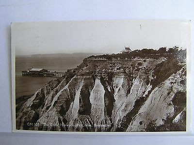R/p Postcard - Boscombe - Cliffs & Honeycombe Chine - Dorset
