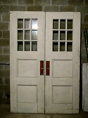 ~ Antique Double Entrance French Doors 68 X 98 ~Architectural Salvage