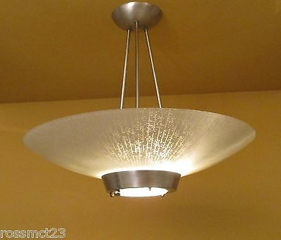 Vintage Lighting large Mid Century Modern by Halcolite