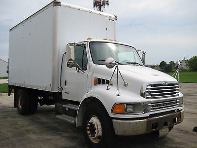 Sterling Acterra 16 foot box truck with lift gate.  Under CDL!  NO RESERVE!