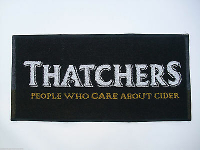 New Thatchers Cider Real Ale Beer Bar Towel / Runners Home Bar Mancave..