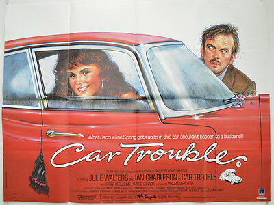 CAR TROUBLE (1985) Original Quad Movie Poster - Julie Walters,  Ian Charleson