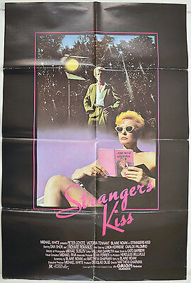 STRANGERS KISS (1984) One Sheet Movie Poster - Peter Coyote, Victoria Tennant