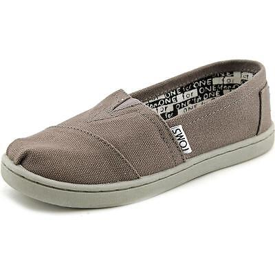 Toms Classic Youth US 5.5 Gray Flats