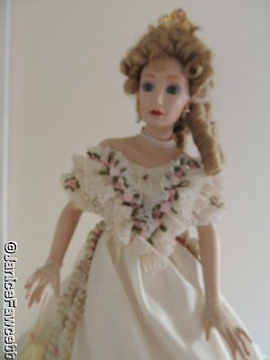 Hamilton Collection Heritage Doll - Alexandra - The Last Empress of Russia