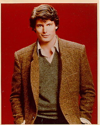 Christopher Reeve 8x10 photo F9114