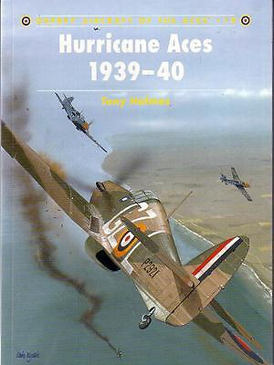 Hurricane Aces 1939-40[Aircraft of the Aces No 18]- Book 1998 1st Ed Osprey S/B]