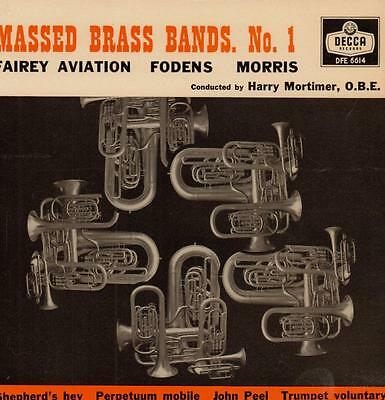 "Harry Mortimer(7"" Vinyl P/S)Massed Brass Bands No.1-VG+/VG"