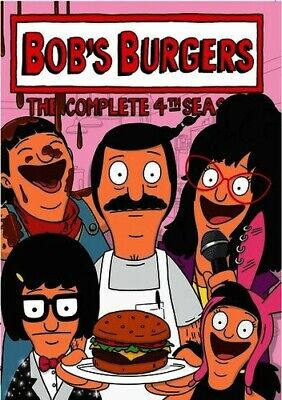 Bob's Burgers: The Complete 4th Season - 3 DISC SET (2015, REGION 1 DVD New)