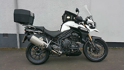 2012 Triumph Tiger Explorer 1215 White With Extras
