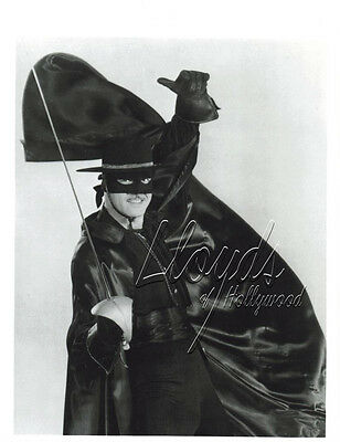 Guy Williams Zorro The Fox Tv Action Hero  Photograph 1957