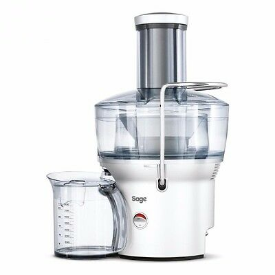 Sage BJE200SIL 900w Nutri Juicer Compact Silver - Brand New