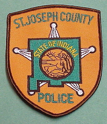 St. Joseph County  Indiana  In   Police Patch   Free Shipping!!!