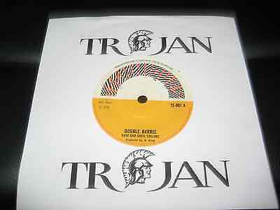 "DAVE AND ANSIL COLLINS DOUBLE BARREL - TROJAN  RECORDS 1970-7"" Single"