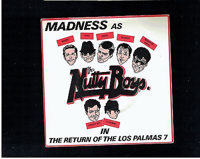 Madness The Return Of The Los Palmas 7 Ps 45 1981