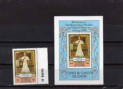 Turks & Caicos 1980 Serving The Community (Rotary, Lions) SGMS 613 MNH