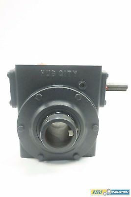 New Hub City 0220-62758-322 Model 322 Style A 20:1 Worm Gear Reducer D548164