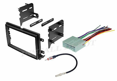 double 2 din car stereo radio dash kit installation trim bezel w ford stereo radio dash installation mounting kit trim f 150 wiring harness ant