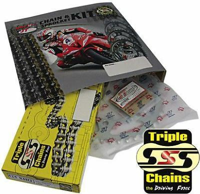 Yamaha YZF-R125 Chain And Sprocket Kit 2008-2015 Heavy Duty Triple S