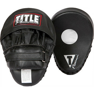 Title Boxing Platinum Leather Punch Mitts