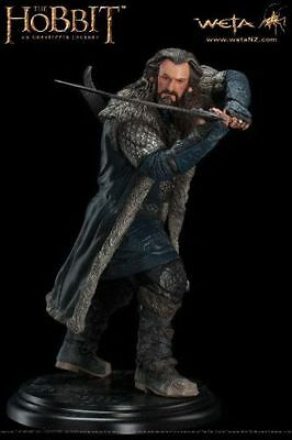 Weta Collectibles The Hobbit Thorin Oakenshield Statue Exclusive with Shield New
