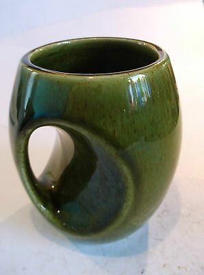 Holkham Mug - Lovely In Green And Very Unusual-Free Uk Postage.