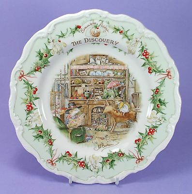 Royal Doulton Brambly Hedge Collectors Plate The Discovery