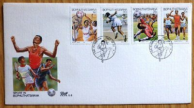 1987 Botswana First Day Cover-Sport No FR-710